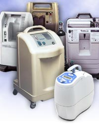 Oxygen Concentrators, Portable Inogen concentrators
